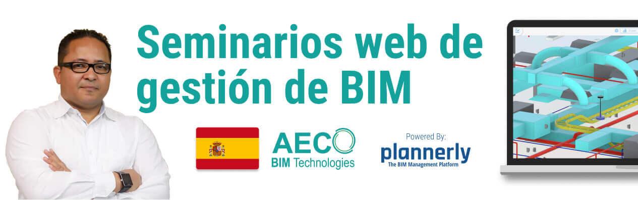 Seminarios web de gestión de BIM