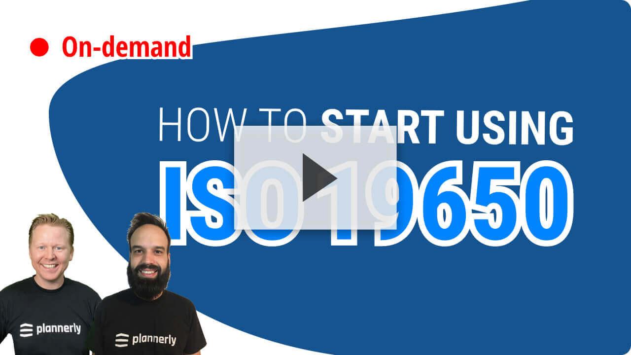 ISO 19650 Summary Webinar