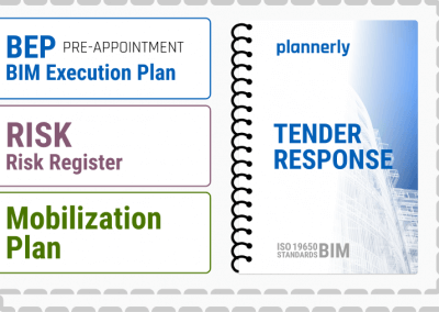 TENDER RESPONSE - for ISO 19650 information management - BIM projects